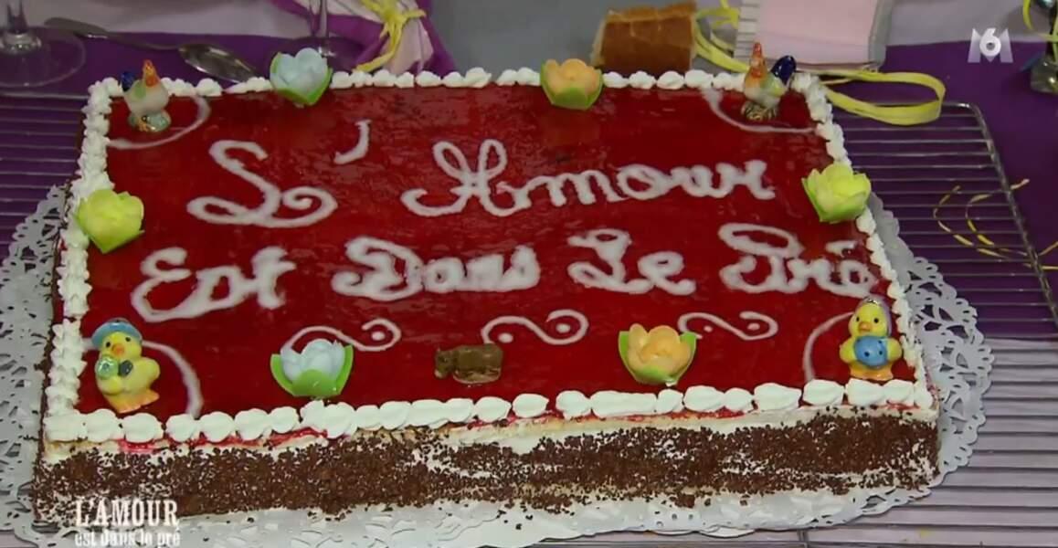 Oh, le joli gâteau spécial L'amour est dans le pré