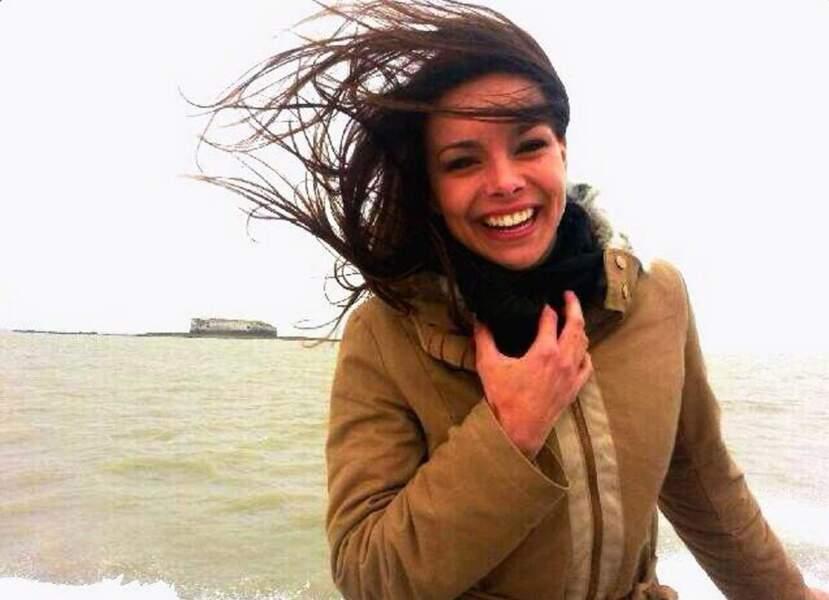Marine Lorphelin, toujours classe et toujours Miss, au naturel et en plein vent