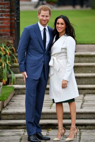 Le 27 novembre 2017, Harry annonce (enfin !) officiellement ses fiançailles avec la belle Meghan