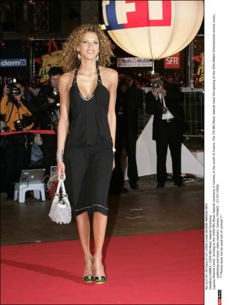 Mannequins et peoples, tout le monde est le bienvenue aux NRJ Music Awards. Par exemple Noémie lenoir en 2006 ...
