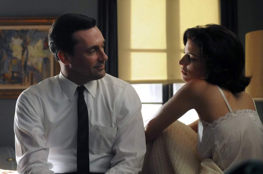 Le voici ici avec Megan, l'une de ses maîtresses qui deviendra sa troisième épouse.