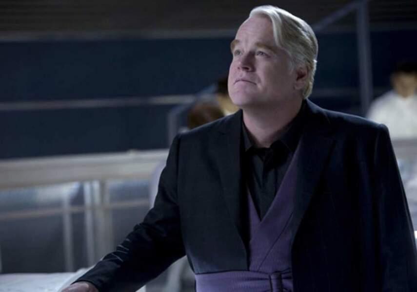 Philip Seymour Hoffman dans Hunger Games (2013)