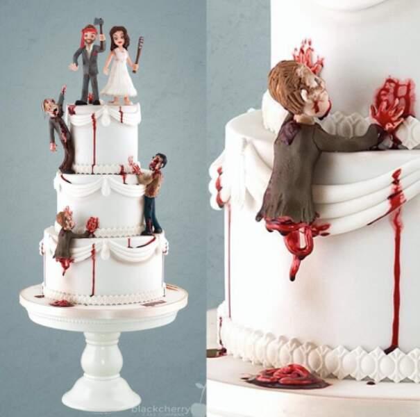 Enfin, les fans de films de zombies ont aussi droit à leur gâteau...