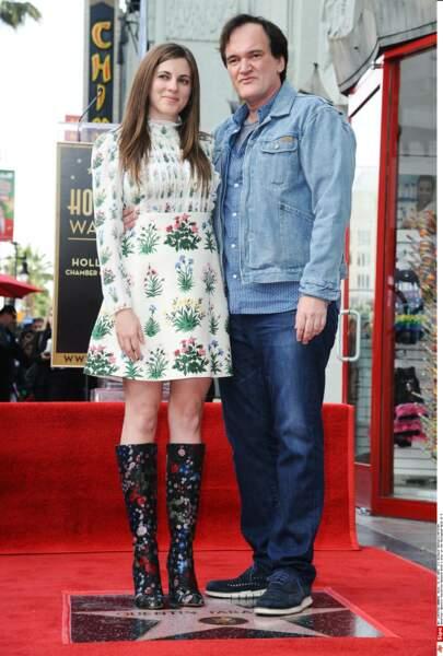 Courtney Hoffman, la compagne de Quentin Tarantino a également fait le déplacement...