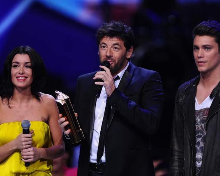 Jenifer a mis du soleil sur scène, ici au côté de Bastian Baker et Patrick Bruel, récompensé.