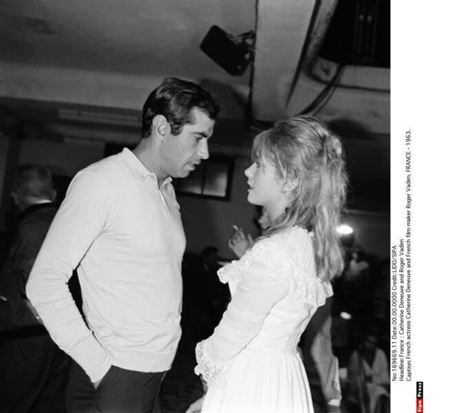 En 1963, il lui offre un rôle dans Le vice et la vertu (1963), et un fils, Christian