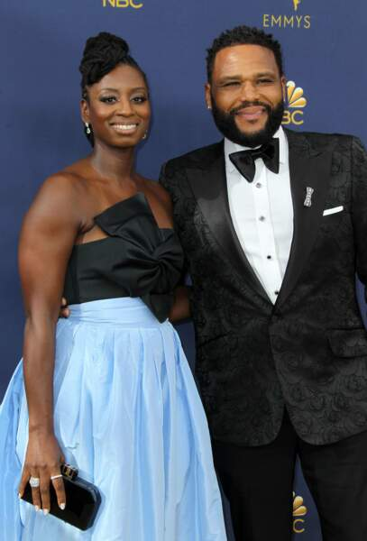 Anthony Anderson, le héros de Black‑ish, rayonne avec sa femme, Alvina Stewart