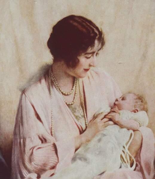 Le 21 avril 1926, la princesse Elisabeth Bowes-Lyon donne naissance à une petite Elisabeth