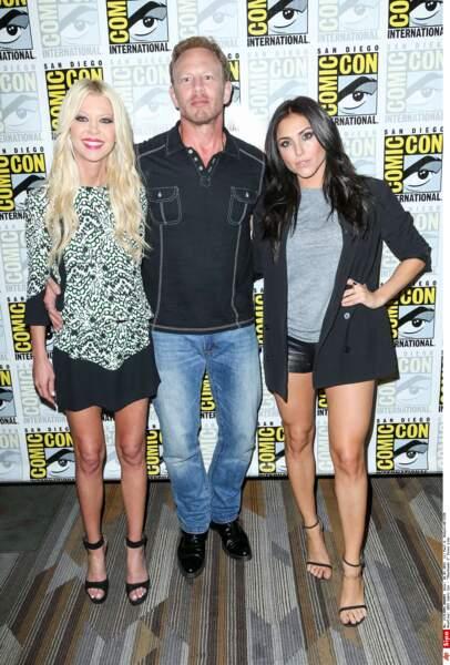 Sharknado 3 : Ian Ziering est bien entouré avec Tara Reid et Cassie Scerbo