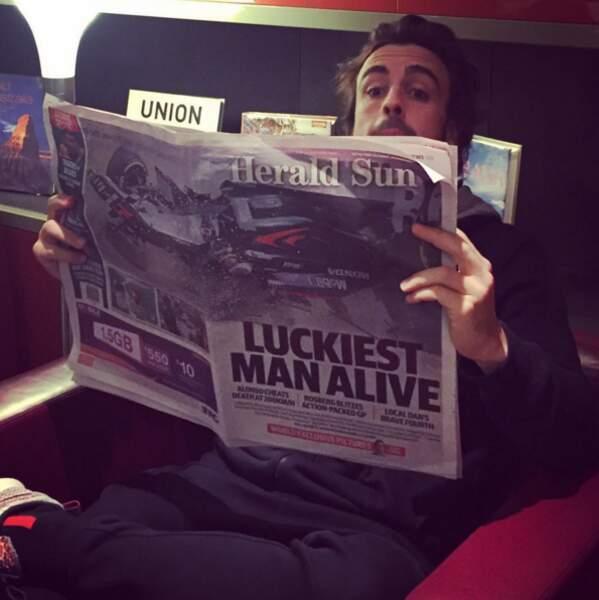 Un Grand Prix que n'oubliera jamais Fernando Alonso, victime d'un terrible accident (mais heureusement indemne)