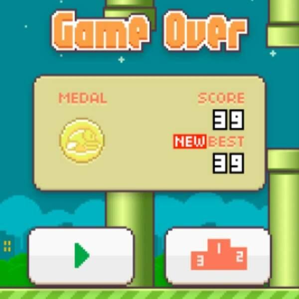 Et s'est énervé, comme beaucoup, sur Flappy Bird.
