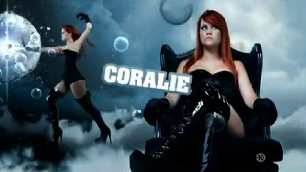 """Coralie (Saison 4). Son secret : """"Nos ex' sont dans la maison"""" (avec Stéphanie et Senna)"""