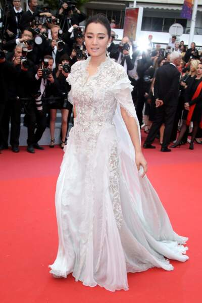 L'actrice chinoise Gong Li