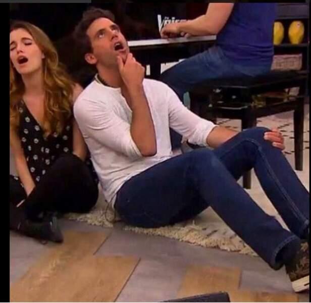 Quand Mika fait son coaching, il met tout sur le tapis
