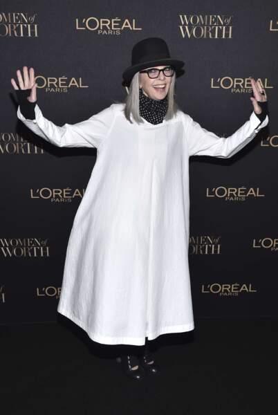 Et on avoue être moins fan de la tenue de soirée de Diane Keaton, ahem.