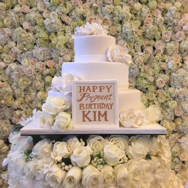 Sinon, mercredi, c'était l'anniversaire de Kim Kardashian.