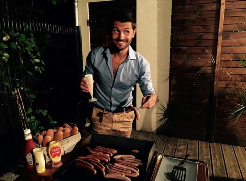 L'info de la semaine. Christophe Beaugrand aime les saucisses.