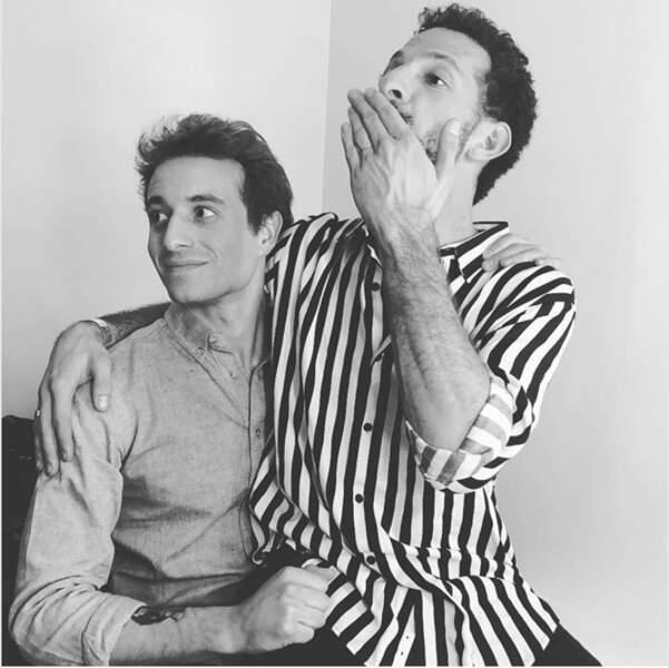 Hugo Clément et Vincent Dedienne sont très copains.