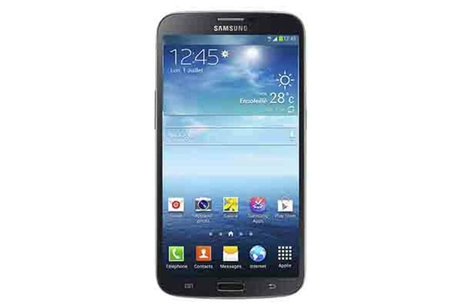 Phablète Samsung Galaxy Méga : à mi-chemin entre le smartphone et la tablette.