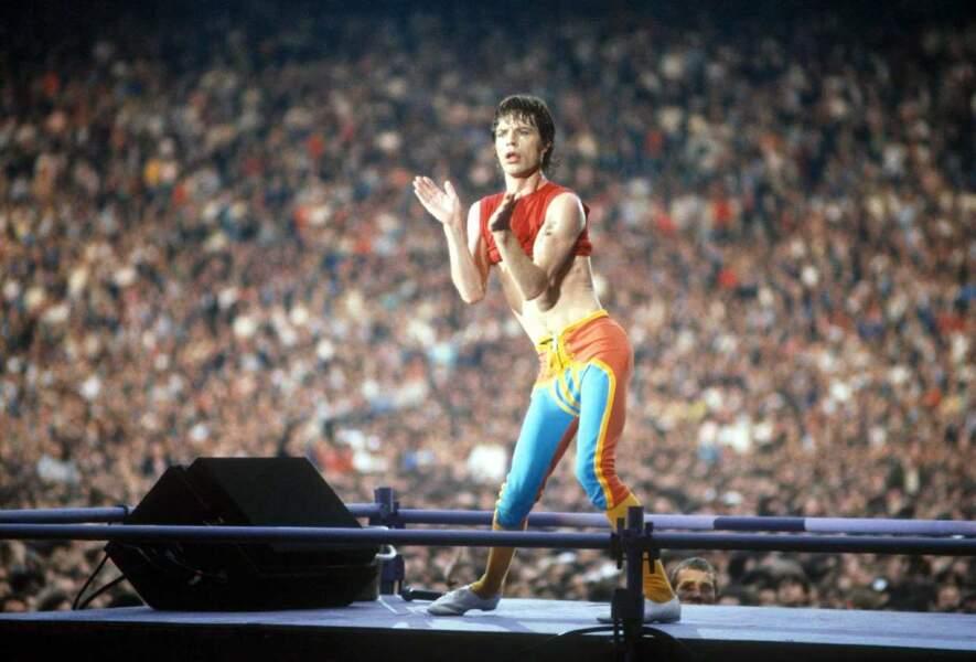 Mick Jagger, leader charismatique des Rolling Stones en 1962