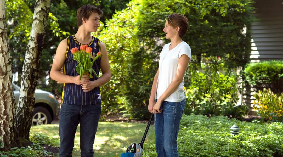 Mais aussi dans Nos étoiles contraires, un film romantique et poignant.
