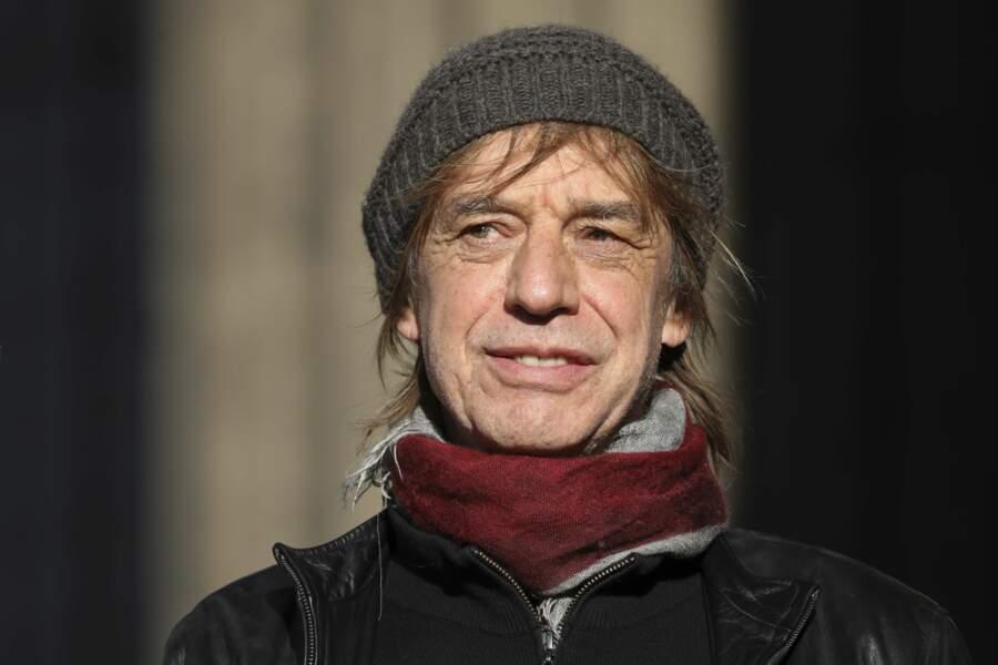 Le chanteur Jean-Louis Auber a lui aussi tenu à être présent.
