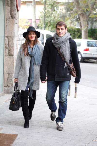 Le footballeur Iker Casillas et sa femme Sara Carbonero attendent leur deuxième enfant eux aussi.