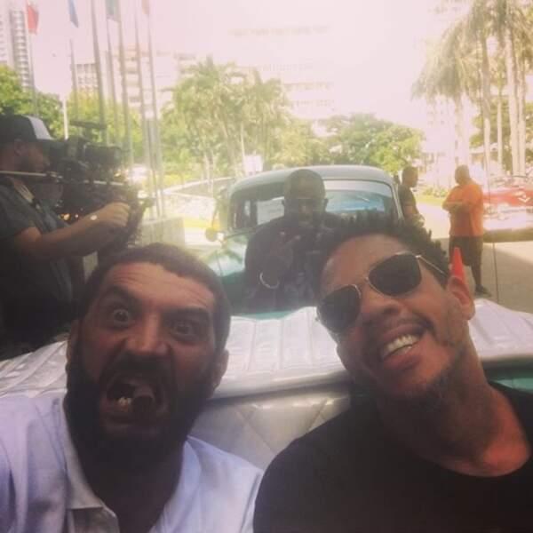 Et que vous êtes aussi détendus que Ramzy et JoeyStarr à La Havane.