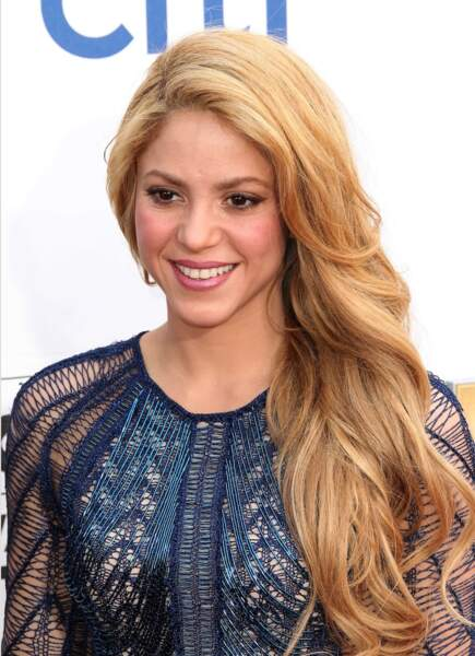 Shakira radieuse en festival…