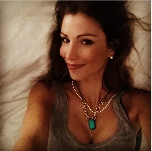 Petit selfie pour Alexandra Rosenfeld