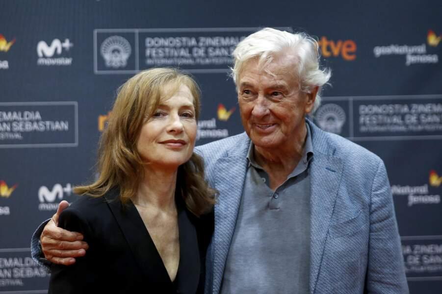 Isabelle Huppert et Paul Verhoeven font le tour des festivals avec Elle