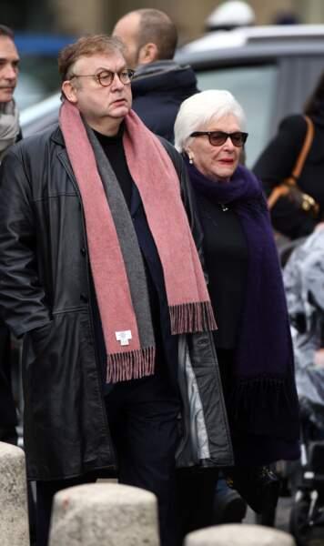 Line Renaud et Dominique Besnehard