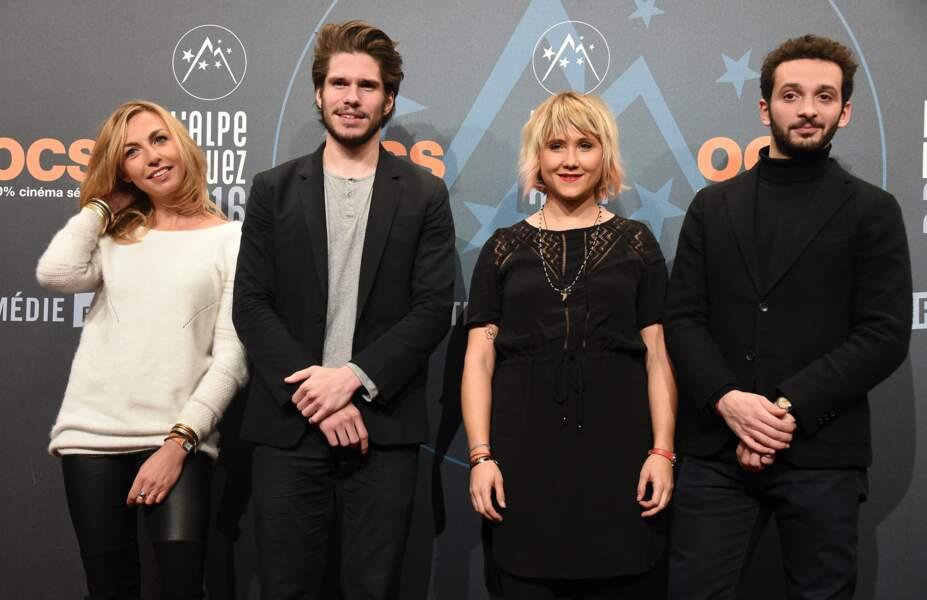 Amelie Etasse, François Civil , Bérengère Krief et William Lebghil