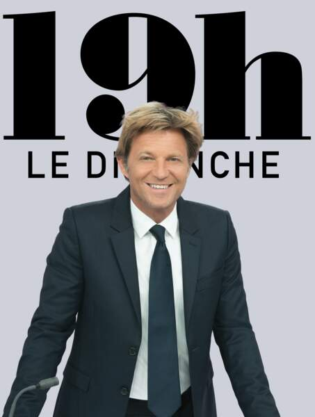 En 2018, Laurent Delahousse tient sa propre tranche de deux heures le dimanche sur France 2