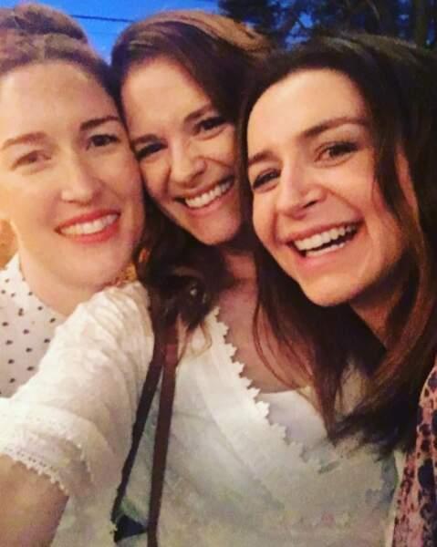 Sarah Drew et Caterina Scorsone souhaitent la bienvenue à la nouvelle scénariste de la série, amie de Sarah Drew