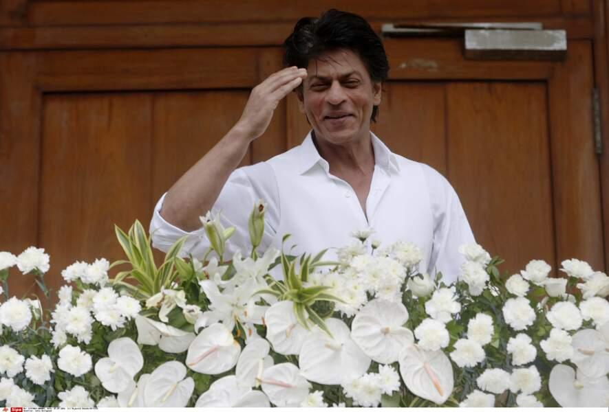 8 (ex aequo). Shah Rukh Khan avec 33 millions de $