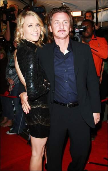 Robin Wright et Sean Penn ont été mariés de 1996 à 2010. Forcément, ça rapproche. Quel coquin !