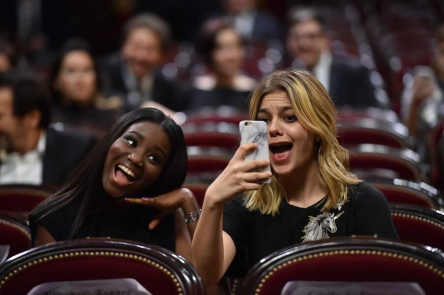 Louane Emera et  Karidja Touré en mode selfie !