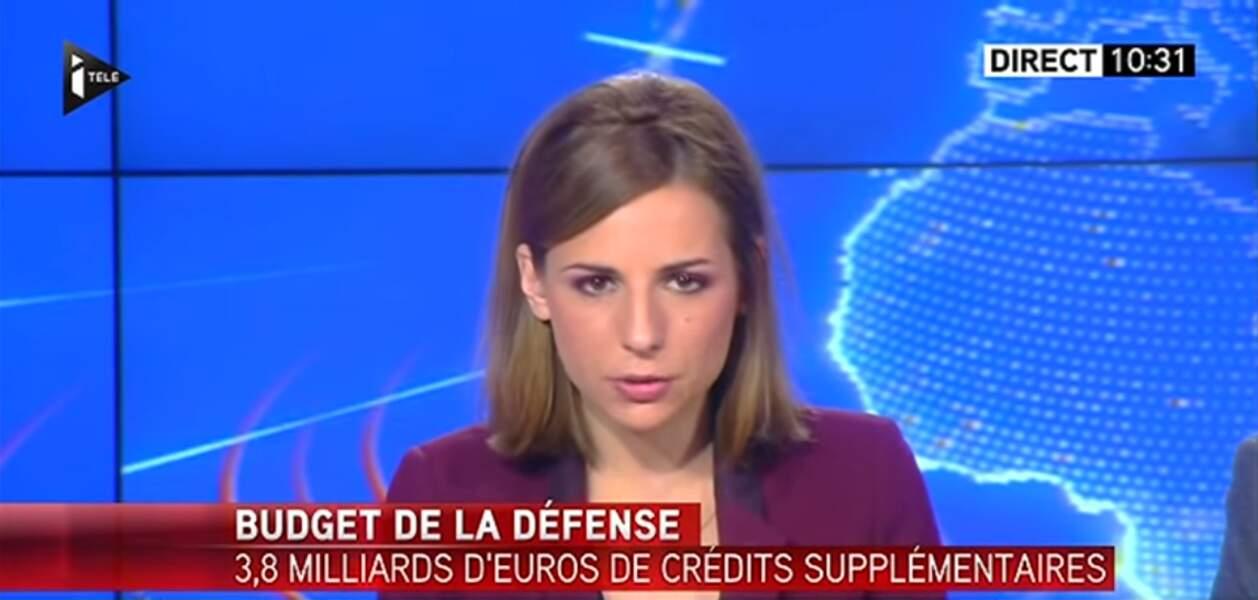 Alice Darfeuille officie dans la Team Toussaint, la matinale d'iTÉLÉ