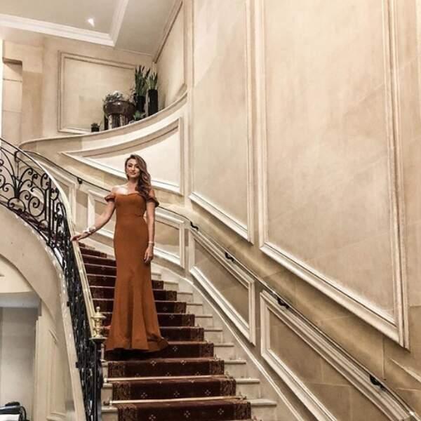 Rachel Legrain-Trapani ressemblait à une princesse de chez Disney.