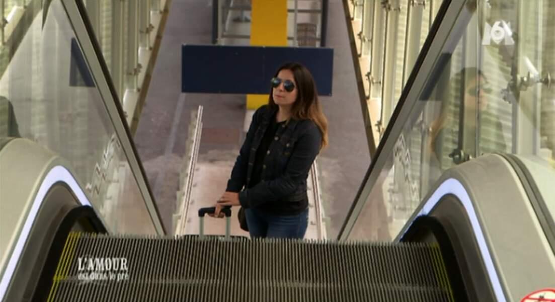 Virginie arrive comme une star à la gare de Limoges