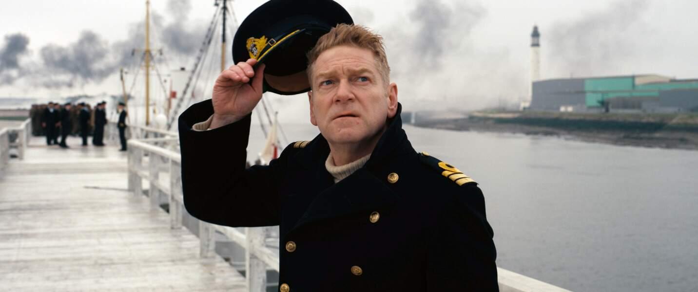 Dunkerque (2017): le Commandant Bolton (Kenneth Branagh), témoin de la déroute anglaise