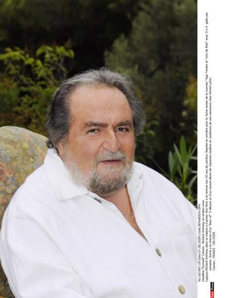 Le chanteur Richard Anthony (Et j'entends siffler le train) est mort à 77 ans.