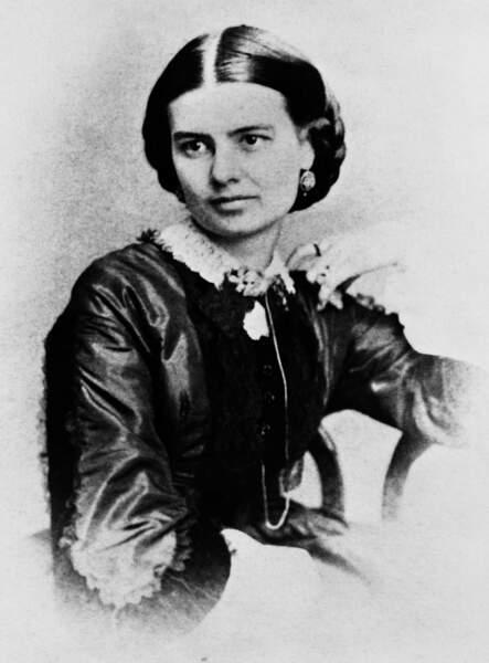 Ellen Arthur n'a jamais tenu son rôle car elle meurt pendant la campagne de son mari 21è président (1881/1885)
