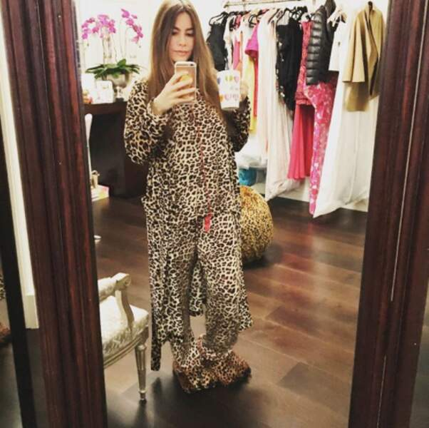 Et moins excessifs dans votre choix de pyjama que Sofia Vergara.