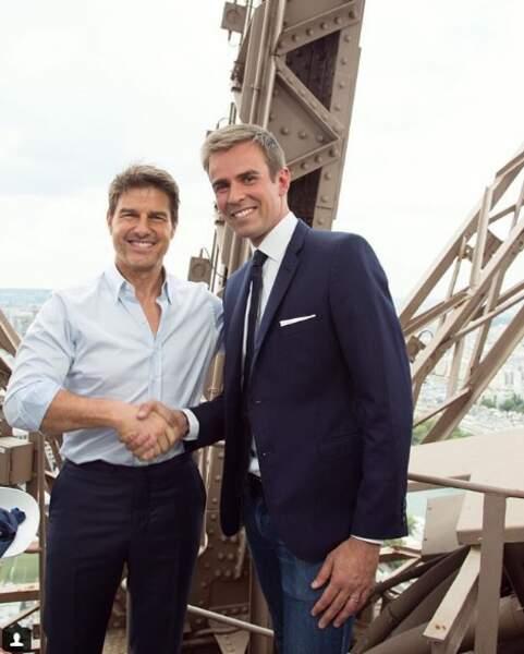 Pour le travail, Jean-Baptiste a rencontré Tom Cruise...