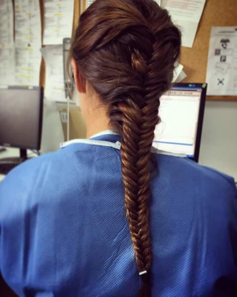Et on adore la coiffure de Marine Lorphelin !