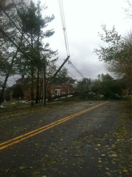 L'ouragan Sandy vu par Eva Longoria... elle est désespérée !