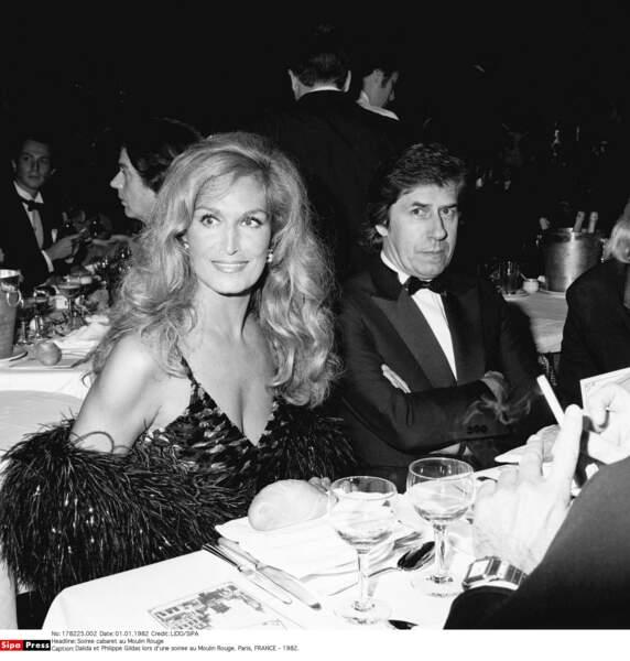 Ami des stars, il passait sa soirée avec Dalida au Moulin Rouge en 1982