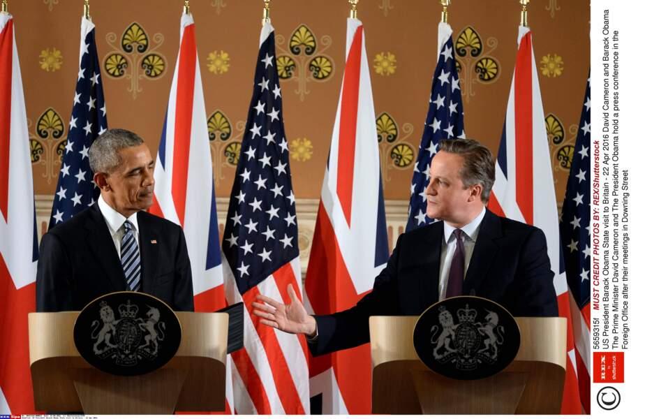 Avec fermeté, Barack Obama s'est prononcé contre le Brexit, avant de poursuivre sa visite
